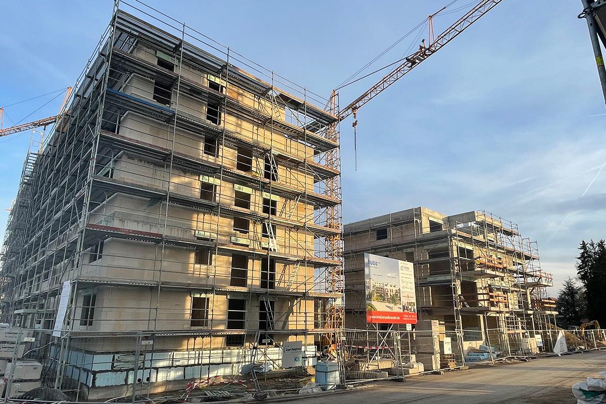 Baufortschritt hugo49 | Winkler & Brendel