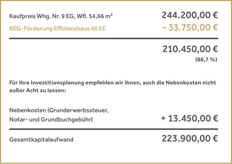 33.750 € BEG-Zuschuss für Wohnungen in HUGO KOMFORT | Winkler & Brendel